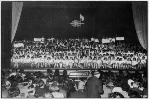 1a trobada de Corals Infantils 1967